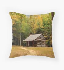 Autumn In The Cove Throw Pillow