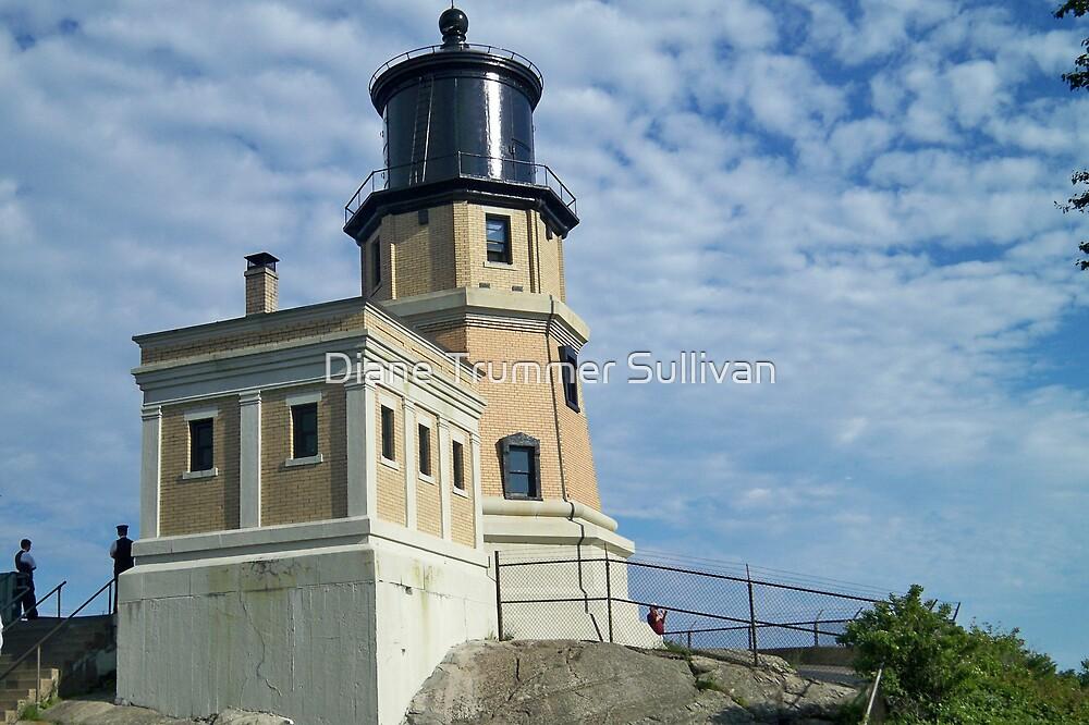 "North shore Minnesota ""Split Rock Lighthouse"" by Diane Trummer Sullivan"