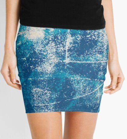 Blue Marine Mini Skirt