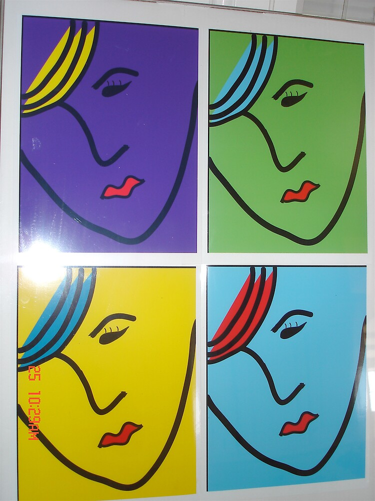 4 faces of bewilderment by Artcool
