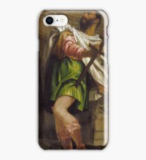 Paolo Caliari Veronese - Allegory of Navigation with a Cross-Staff Averroes iPhone Case/Skin