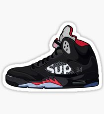 Air Jordan 5 Supreme Sticker