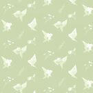 Lechuzas de papel - patrón by hittouch