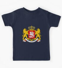 GEORGIA (COAT OF ARMS) Kids Tee
