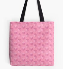 Cubes (grapefruit) Tote Bag