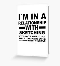 relationship with  SKETCHING Greeting Card