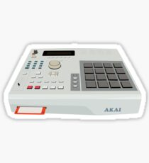 Akai MPC 2000 - Hip Hop - Sampler Sticker