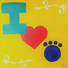 I love Paws by Kamira Gayle