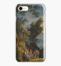 Paul Bril The Rest On The Flight Into Egypt iPhone Case/Skin