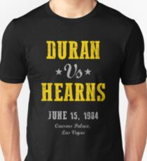 Duran vs Hearns T-Shirt