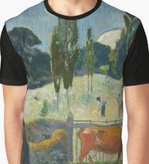 Paul Gauguin - The Red Cow Graphic T-Shirt