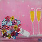 Cheers to the Bride & Groom by Kamira Gayle