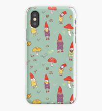 Gnome garden iPhone Case/Skin