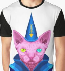 Meowgician Graphic T-Shirt