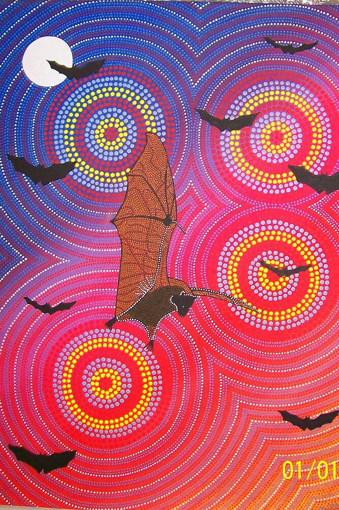 Fruit Bat Dreaming by Derek Trayner