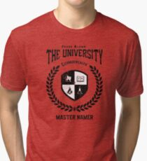 The University (Kingkiller Chronicles) Tri-blend T-Shirt