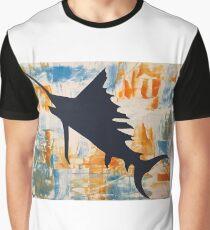 Salty Sailfish  Graphic T-Shirt
