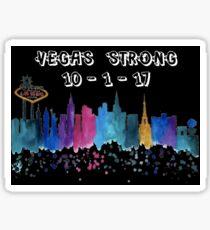VEGAS STRONG - SHOW SUPPORT FOR NEVADA, LAS VEGAS SKYLINE Sticker