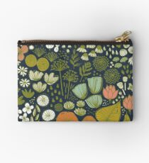 Botanical Sketchbook M+M Navy by Friztin Studio Pouch
