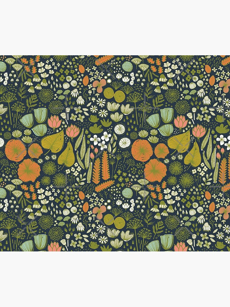 Botanical Sketchbook M + M Navy de Friztin de friztin
