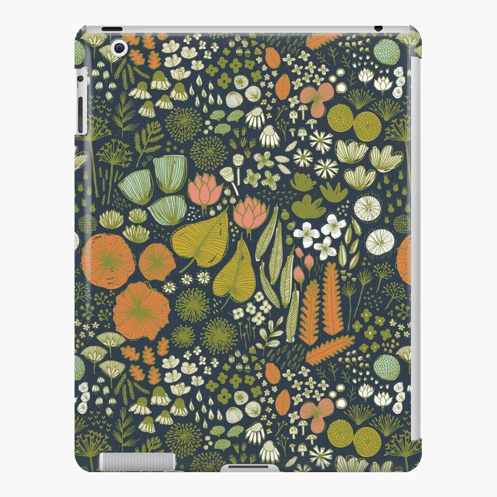 Botanical Sketchbook M + M Navy de Friztin Funda y vinilo para iPad
