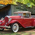 1932 Plymouth Sports Roadster 2 by DaveKoontz