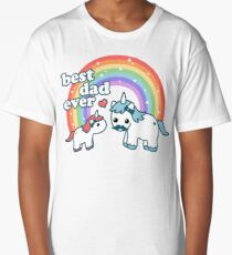 Best Unicorn Dad Long T-Shirt