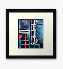 Abstract phone completed... Framed Print