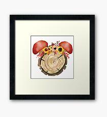 Autumn Mouse Framed Print
