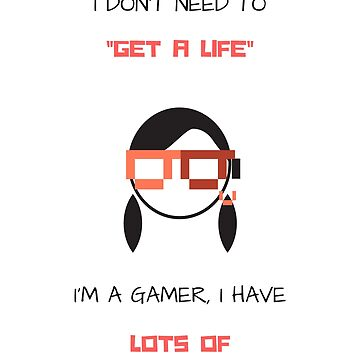 Gamer - Funny Words by culturageekstor