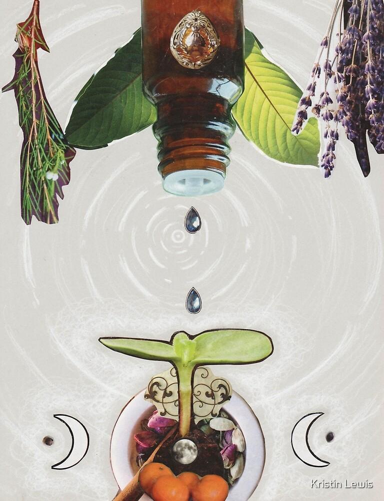 Distilling my Essence by Kristin Lewis