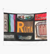 Italian Brands Wall Tapestry
