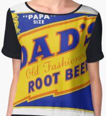 DADS ROOT BEER, DAD'S ROOT BEER Chiffon Top