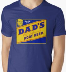 DADS ROOT BEER, DAD'S ROOT BEER Men's V-Neck T-Shirt