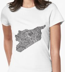 Syria  Women's Fitted T-Shirt