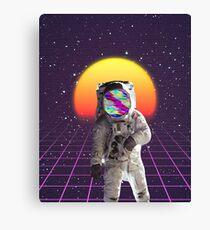Vaporwave Astronaut Canvas Print