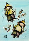 Fishing Mates by Karin Taylor