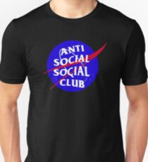NASA Anti Social Social Club T-Shirt
