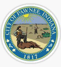 Pawnee Indiana Sticker