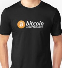 Bitcoin Accepted Here T-Shirt