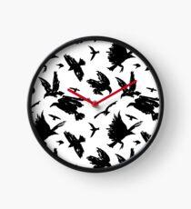 Corvids Clock