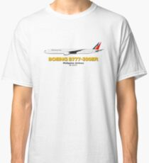 Boeing B777-300ER - Philippine Airlines Classic T-Shirt