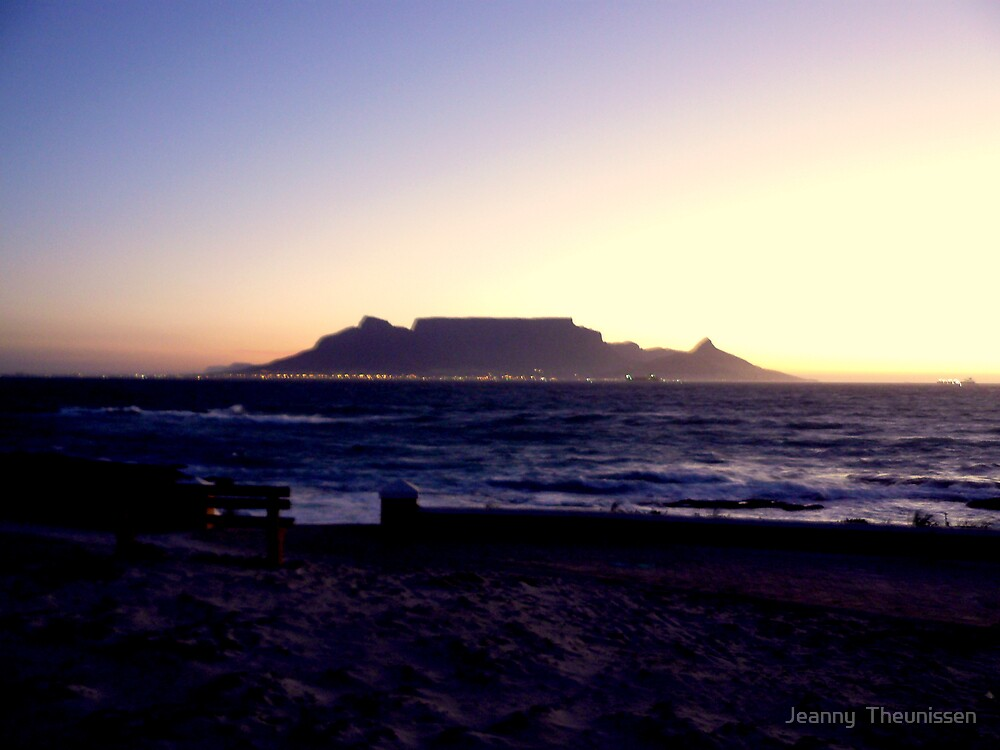 Magnificent Sunset by Jeanny  Theunissen
