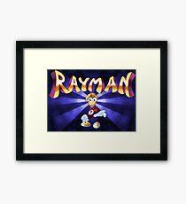 Rayman (Jaguar Title Screen) Framed Print
