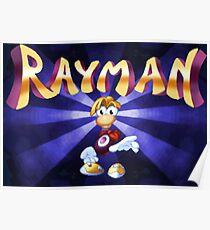 Rayman (Jaguar Title Screen) Poster