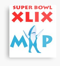 Super Bowl MVP Metal Print
