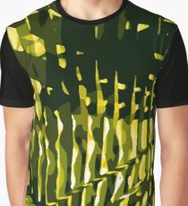 Tropical Leaves Nature Pattern Graphic T-Shirt