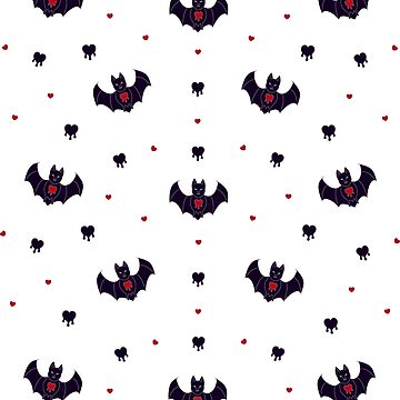 Bleeding Heart Bat by Baublesaurus
