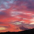 Evening Sky Over South Brent 2 by lezvee