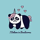I believe in Pandicorns by zoel